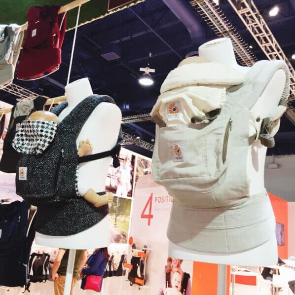 Ergobaby Baby Carrier (New Colors!) | 25 Top Baby Products from the ABC Kids Expo