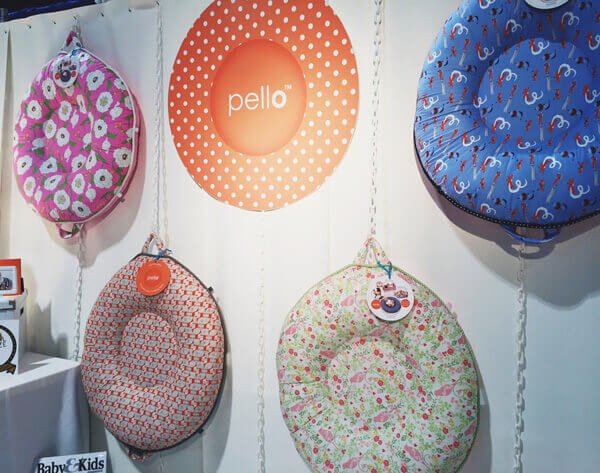 Pello Luxe Floor Pillow | 25 Top Baby Products from the ABC Kids Expo