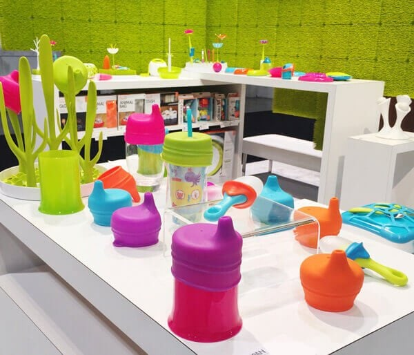 TOMY Boon Silicone Sippy Lids | 25 Top Baby Products from the ABC Kids Expo