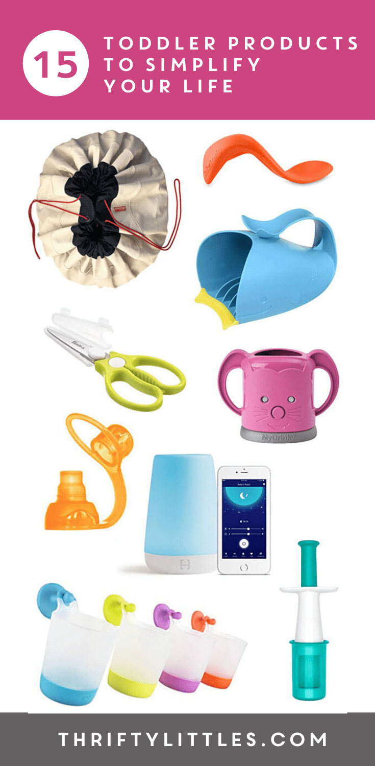 Fifteen Products To Simplify Life With a Toddler
