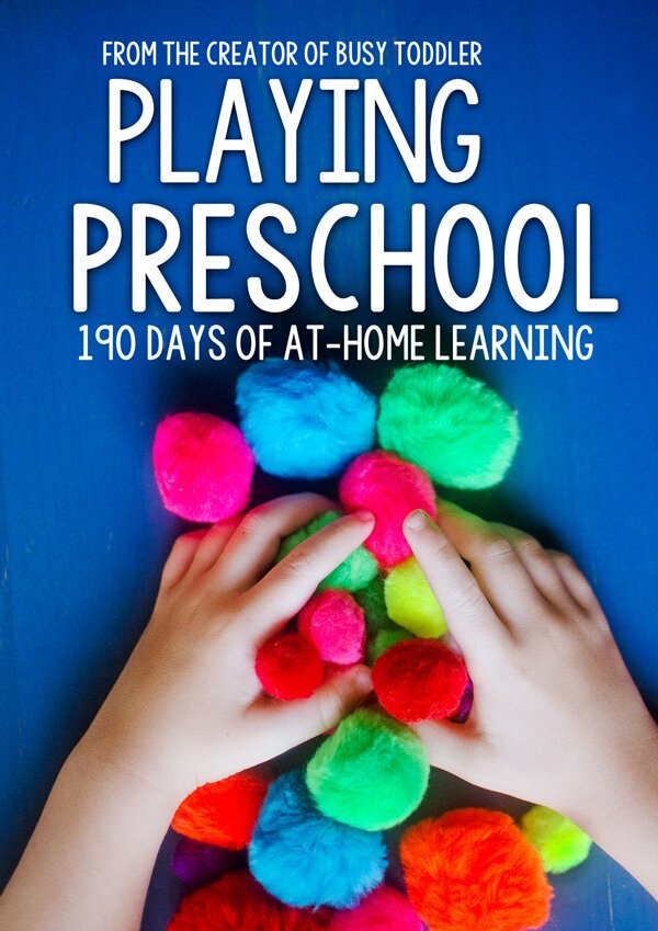 Busy Toddler Playing Preschool