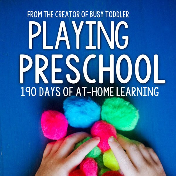 Shop Spotlight: Busy Toddler (Playing Preschool)