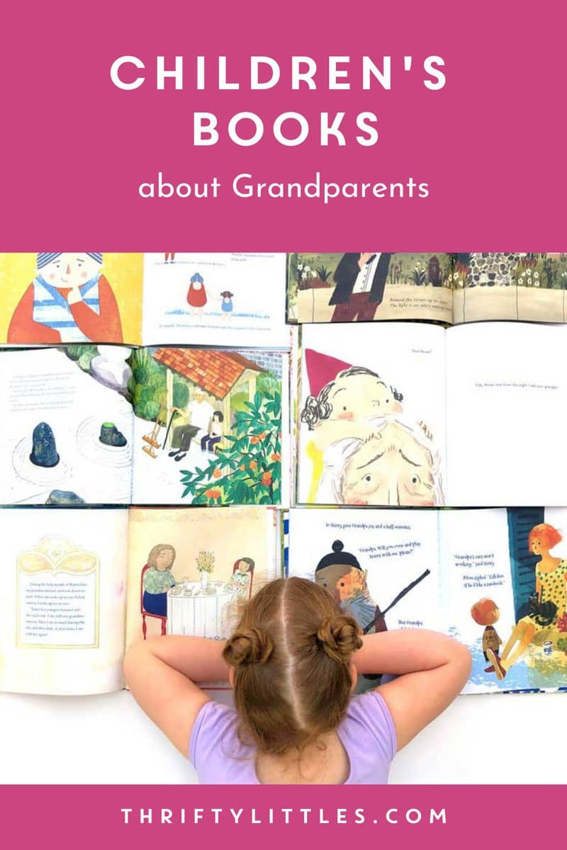 Twelve Children\'s Books about Grandparents
