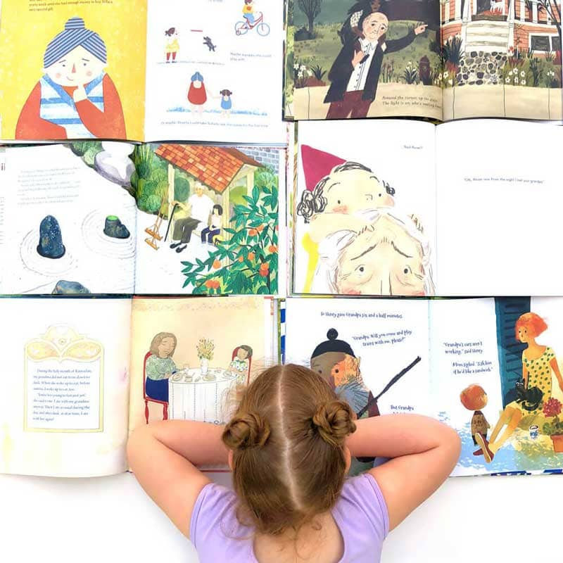 Twelve Children's Books about Grandparents
