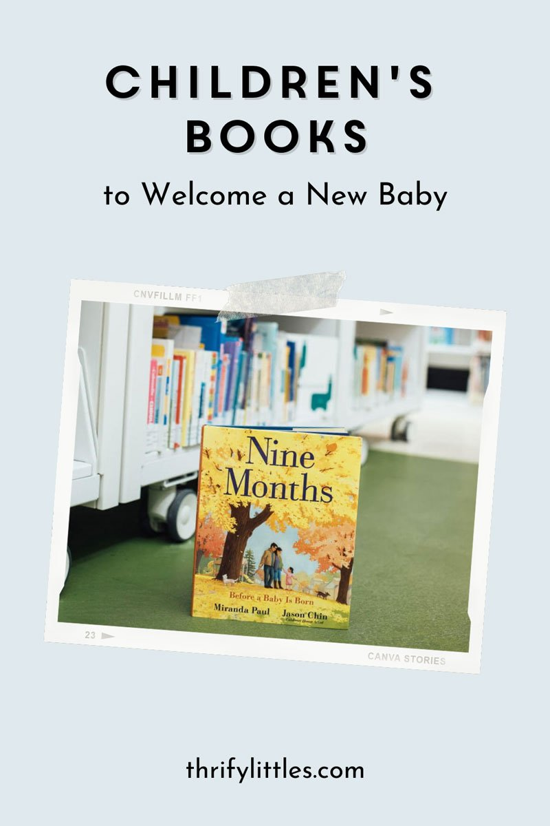 Welcome Baby With These Twelve Books