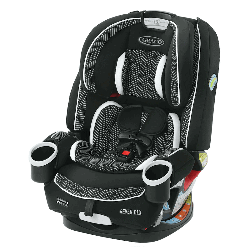 Graco 4Ever DLX 4-in-One Car Seat $199.99!