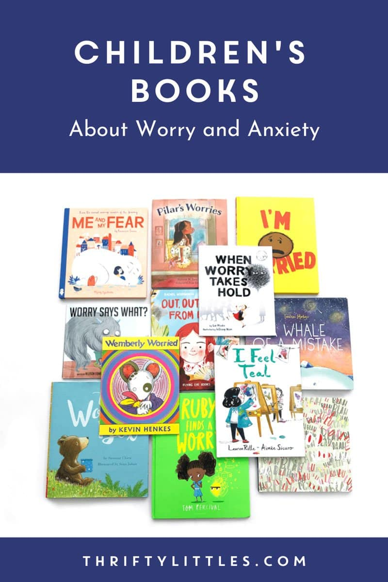13 Picture Books to Discuss Anxiety with Kids