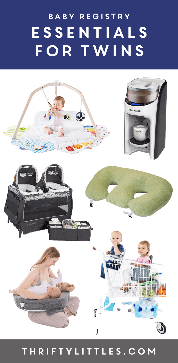 Baby Registry Essentials for Twins