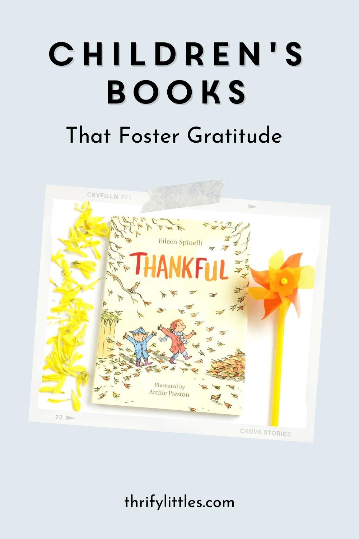 Children's Books that Foster Gratitude
