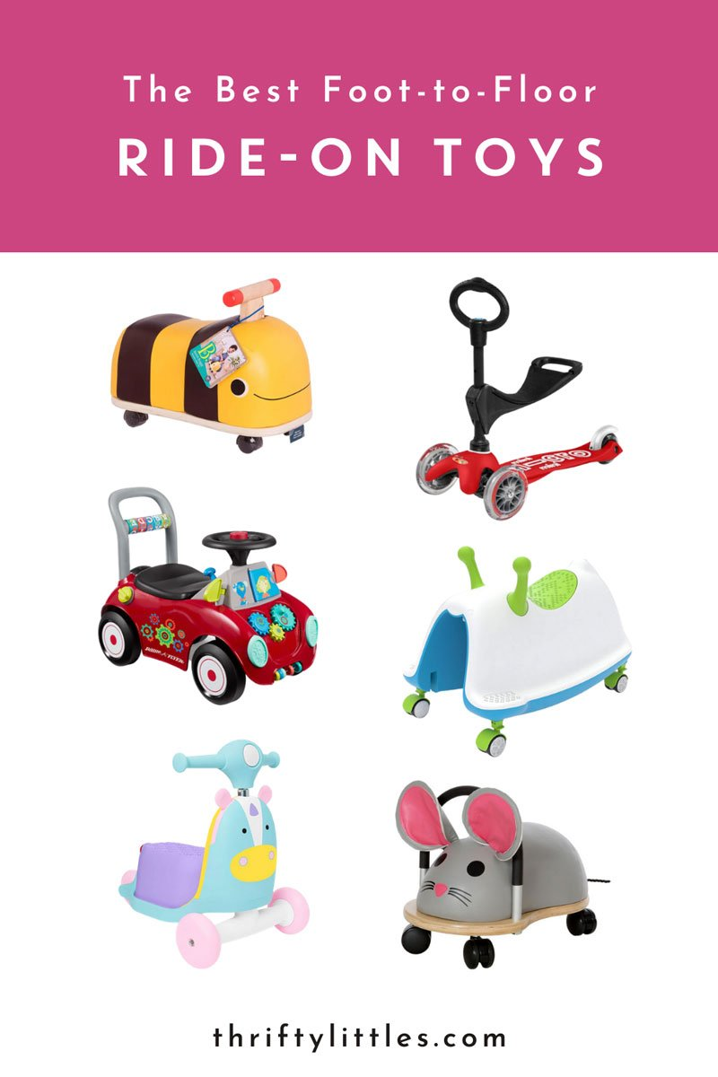 The Best Foot-to-Floor Ride-On Toys
