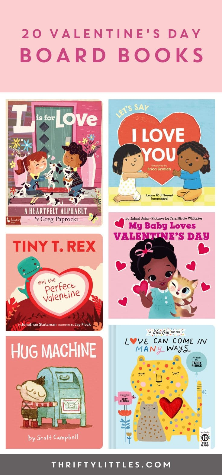 Valentine\'s Day Board Books for Babies