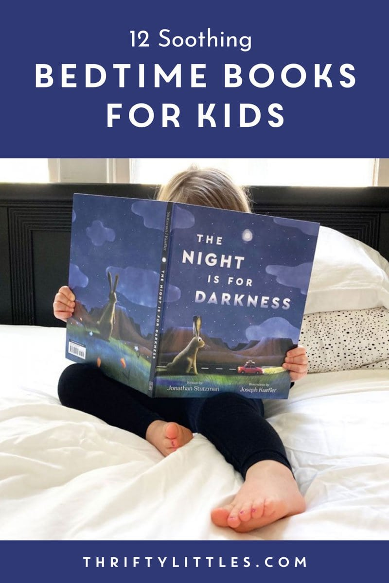 Twelve Soothing Bedtime Books for Kids