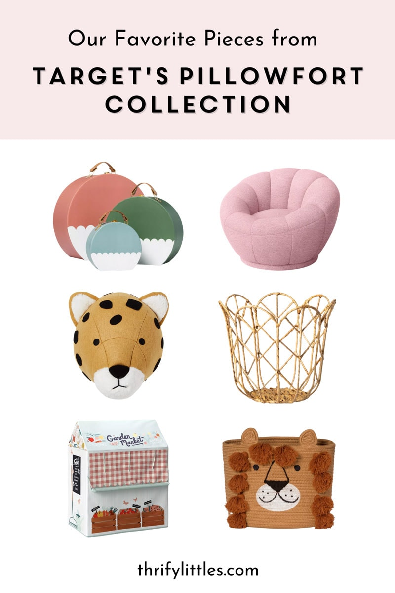 Target's Reimagined Pillowfort Collection