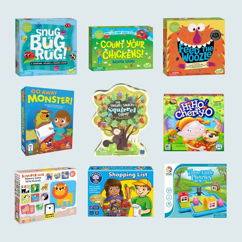 The Best Board Games for Toddlers