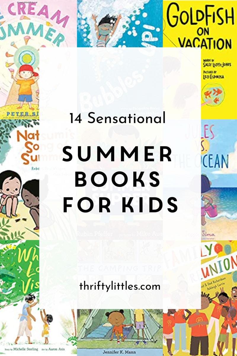 14 Sensational Summer Books for Kids