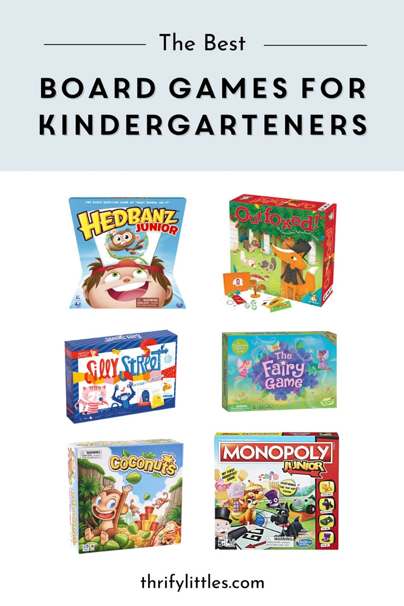 The Best Board Games for Kindergarteners
