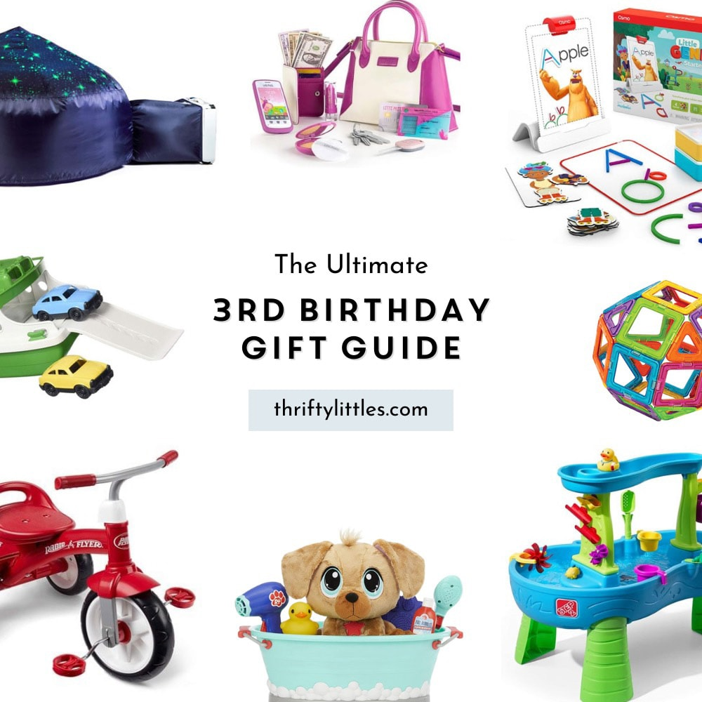 The Ultimate Third Birthday Gift Guide