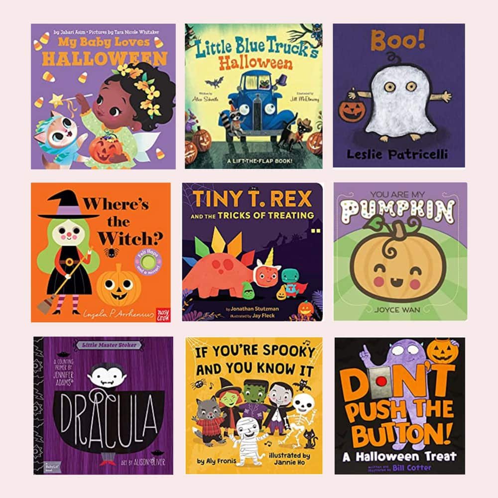 Halloween Board Books for Babies and Toddlers