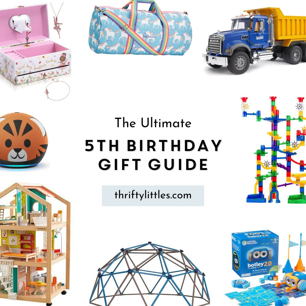 The Ultimate Fifth Birthday Gift Guide