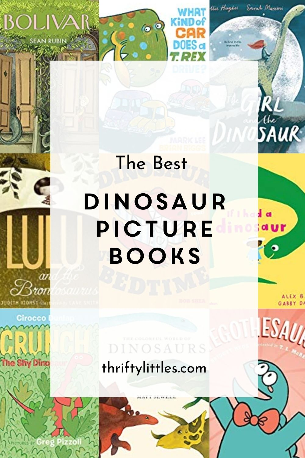 Picture Books for Kids Who Love Dinosaurs