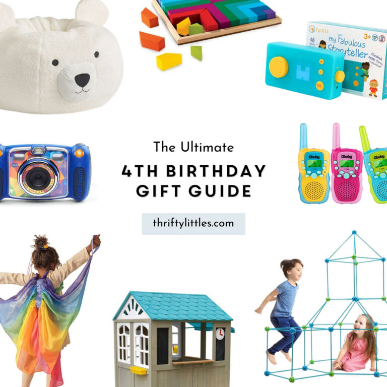 The Ultimate Fourth Birthday Gift Guide